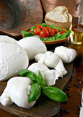 Mozzarella — Stock Photo