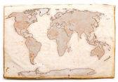 античный карта — Стоковое фото