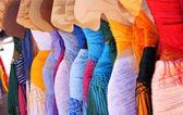 Renaissance Fair Dresses — Stock Photo