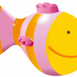 Small yellow fish toy — Stock Photo #34607587