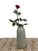 Rosas en un jarrón. — Foto de Stock