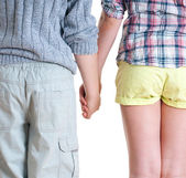 Teenage boy and girl. — Stock Photo