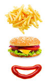 Fast food concept. — Stock Photo