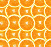 Orange slices seamless background — Stock Photo