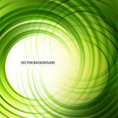 Green abstract wave background — Stock Photo