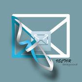 Concepto de correo e — Vector de stock