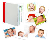 Blank book, photo album. — Stock Photo