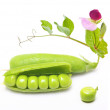 Pod of green peas — Stock Photo #30931785