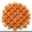 Waffle isolated — Stock Photo