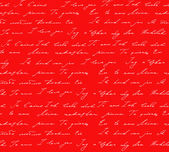 Red background with I love you inscription — Stock Photo