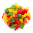 Mix pepper isolated — Stock Photo