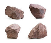 Granite stones,rocks isolated — Stock Photo