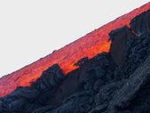 Etna eruption 2004 — Stock Photo