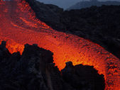 Lava flow — Stock Photo