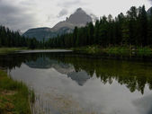 Three Peaks Lavaredo reflected — Photo