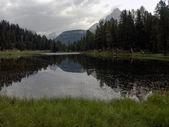 Reflexiones sobre el lago — Foto de Stock