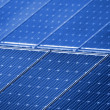 photovoltaic panels — Stock Photo