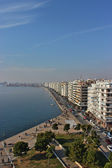 Thessaloniki waterfront Greece — ストック写真