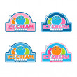 ������, ������: Ice Cream Logo