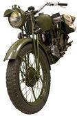 Vecchia bici verde — Foto Stock