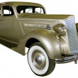 Old gold limousine — Stock Photo #29890001