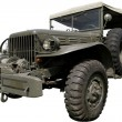 Stock Photo: Military commander's jeep