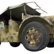 Stock Photo: Military wheeled tractor