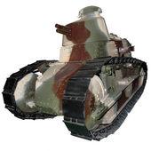 The first light tank — Stock Photo
