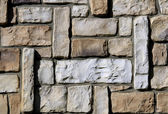 Wall of ashlar — Stock Photo