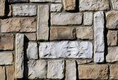 Wall of ashlar — Stock Photo