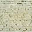 Old yellow brick wall — Stock Photo