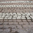 Road crossing of the pavers — Stock Photo