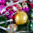 Stock Photo: Mottled Christmas toys