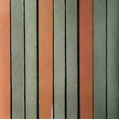 Orange and green vertical background — Stock Photo