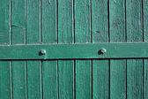 Light green wooden wall — Stock Photo