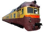 Old suburban train — Stock Photo
