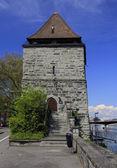 Old powder tower Pulverturm in Konstanz — Stock Photo