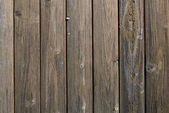 Old dark brown wooden wall — Stock Photo