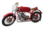 Vecchia bici sport rosso — Foto Stock