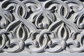 Complex architectural floral ornament — Stock Photo