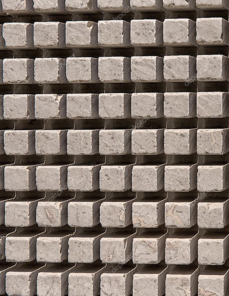 Sfondo di consistenza del muro in pietra, vecchio mattone marrone ...