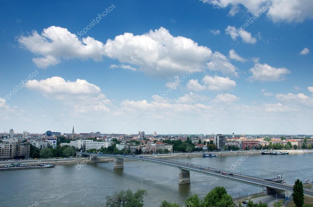 Novi Sad Serbia Novi Sad View of Novy Sad