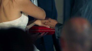 Wedding ceremony — Stock Video