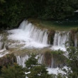 Shot of waterfall on Krka river-Croatia — ストックビデオ