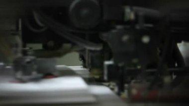 Machine working — Stock Video