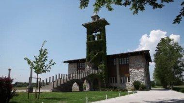 Plecnik's church — Stock Video