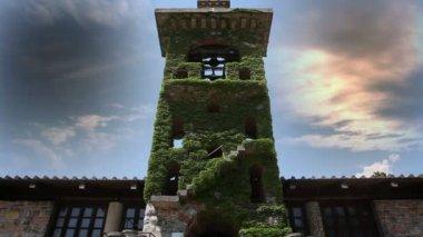 Wieża kościoła — Wideo stockowe