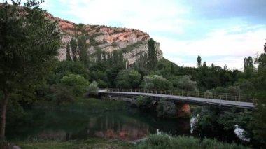 Piękny krajobraz parku narodowego krka — Wideo stockowe