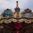 Stock Video: Shot of old carousel