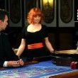 Stock Video: Playing roulette in casino Bled